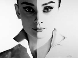 The Two Audreys by IleanaHunter