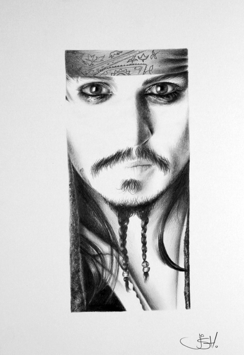 Jack Sparrow Minimal by IleanaHunter