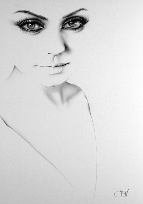 Mila Kunis Commission by IleanaHunter