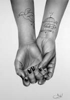 Chloe: a Hand Study by IleanaHunter