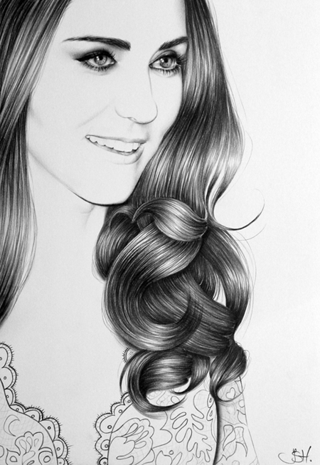 Duchess of Cambridge Portrait by IleanaHunter