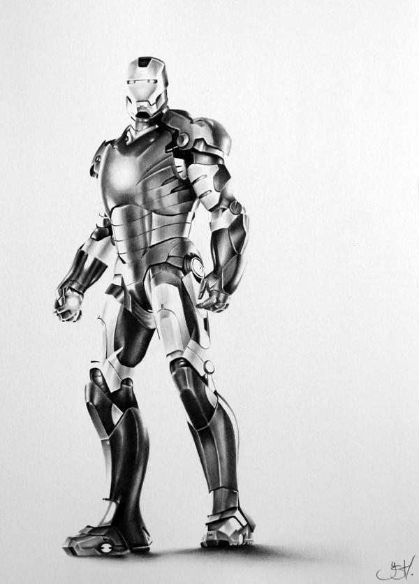 Iron Man Commission by IleanaHunter