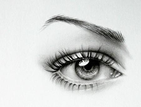 Anne Hathaway Detail by IleanaHunter
