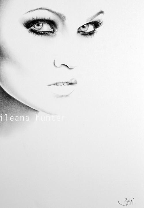 Tarja Turunen Minimal Portrait by IleanaHunter