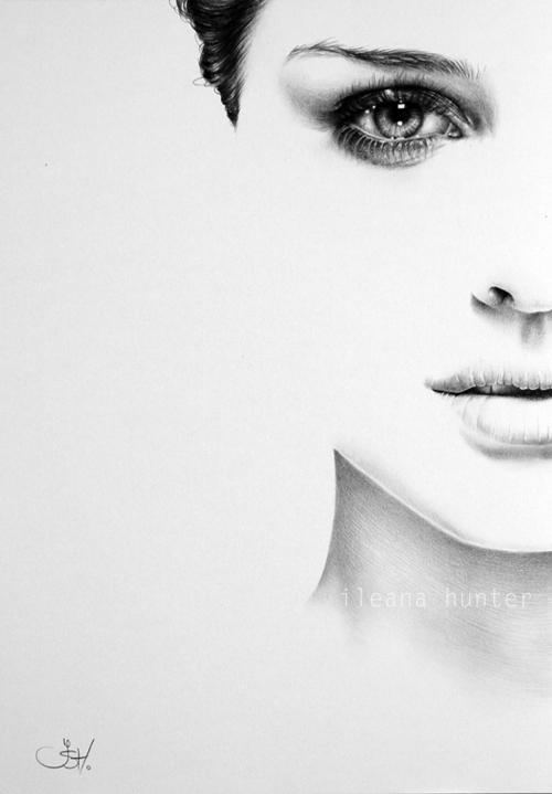 Natalie Portman Half Series by IleanaHunter