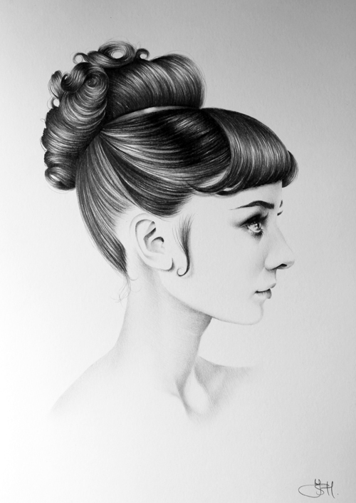 Audrey Hepburn Profile by IleanaHunter