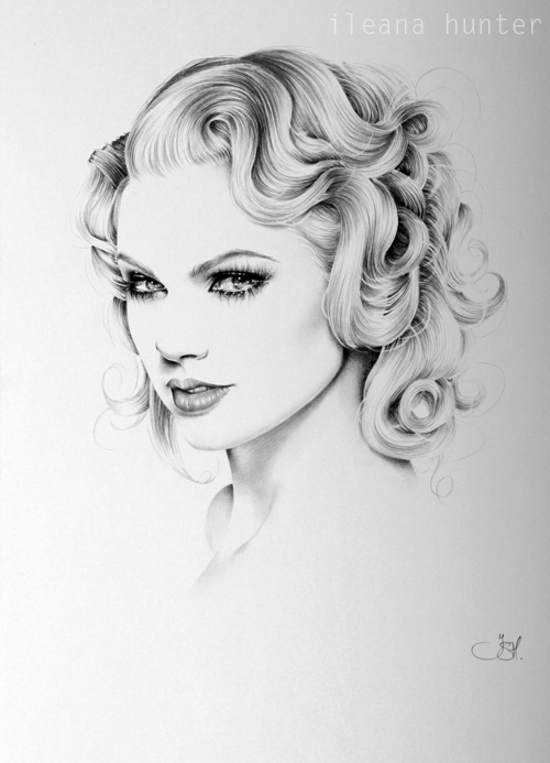 Drawing Lines With Swift : Taylor swift minimal portrait by ileanahunter on deviantart