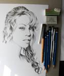 Mariah WIP by IleanaHunter