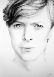 David Bowie Minimal Portrait