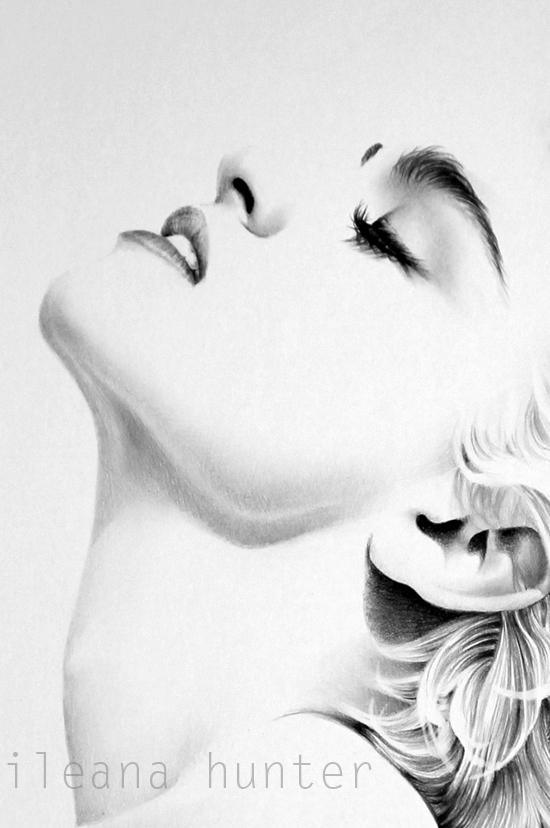 Madonna detail by IleanaHunter