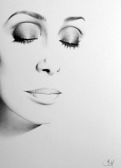 Cher minimal portrait by ileanahunter on deviantart for Minimal art face