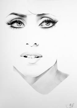 Gaga Minimal Portrait