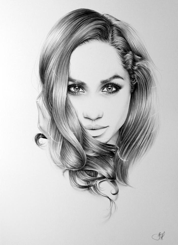 Meghan Markle Portrait by IleanaHunter