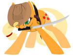 Applejack the Street Samurai - 'Samurai Jack'
