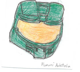 Master Chief's Helmet! by funmiproductions