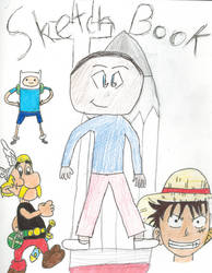 Sketch Book Cover by funmiproductions