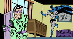 Batman and The Riddler