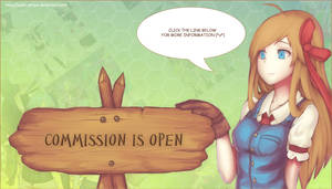 Commission is Open!