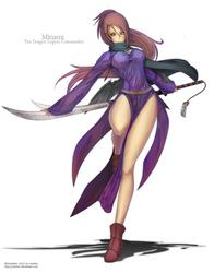 Minami The Dragon Legion Commander by Gofelem