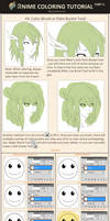 Anime Coloring Tutorial Part 2