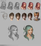 Color Process study