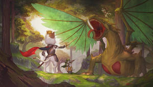 Dragon vs Kittens