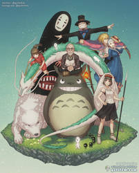 Ghibli: Bliss in Light