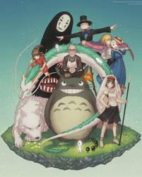 Ghibli: Bliss in Light by Gofelem