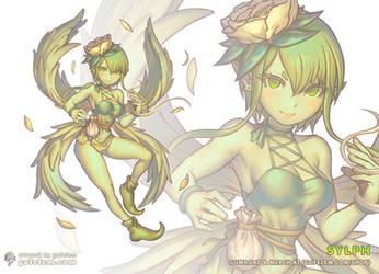 Sylph - Elemental Spirit by Gofelem