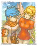 Ryu and Nina's Journey [Breath of Fire III]