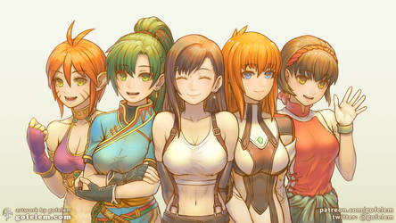 JRPG Classic Heroines