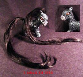 My Demon Pony SHADOW Ooak MLP