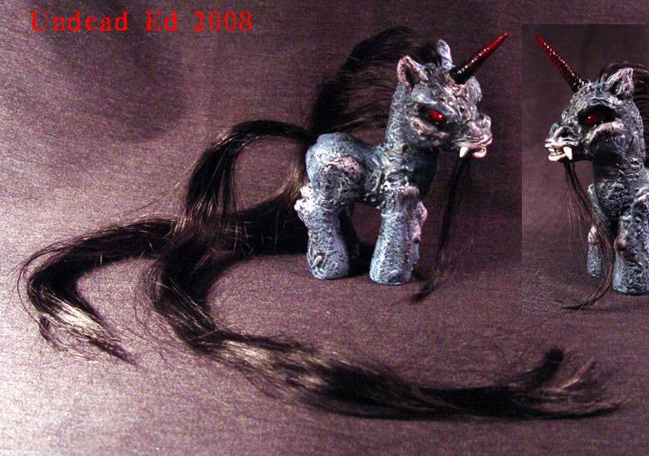 My Demon Pony FORSAKEN OoakMLP by Undead-Art