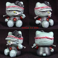 Hello Kitty Frankenstein  OOak by Undead-Art