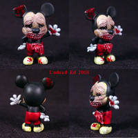 Zombie M. Mouse Ooak by Undead-Art