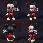Zombie M. Mouse Ooak