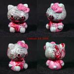 Zombie Hello Kitty BRAINS ooak