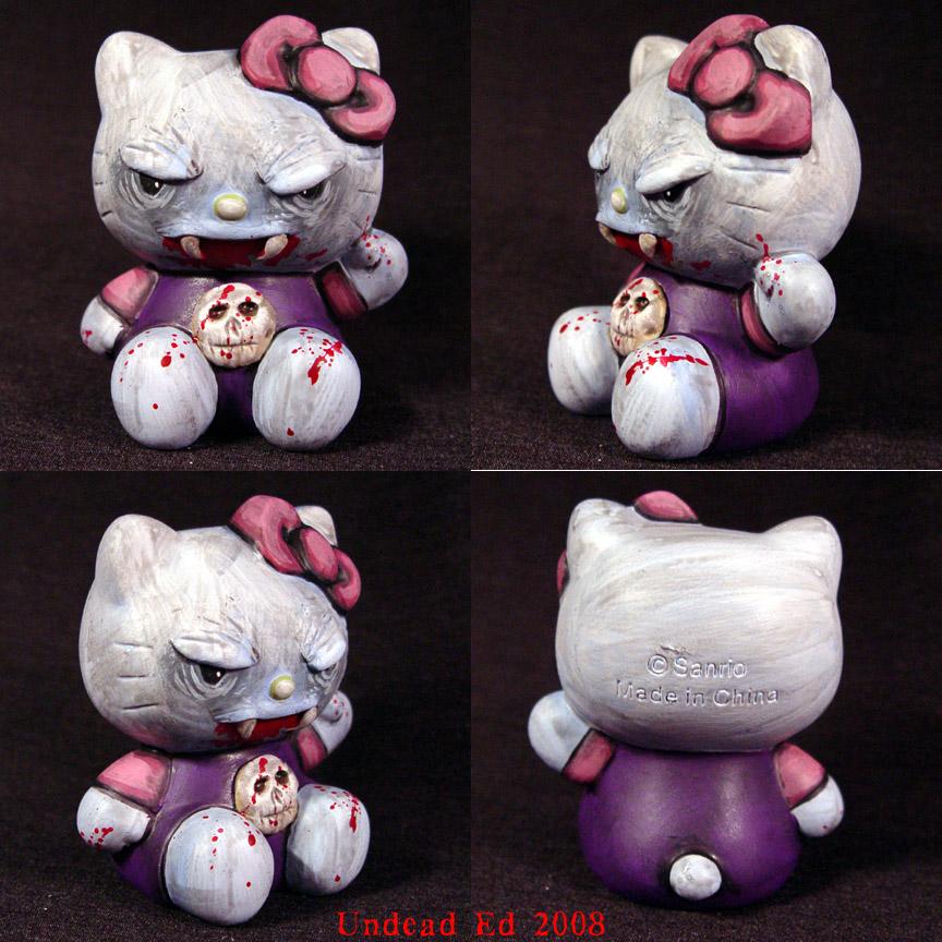 Hello Kitty Vampire OOak by  Evil Hello Kitty Tattoo