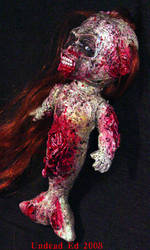 Zombie mermaid turn shot by Undead-Art