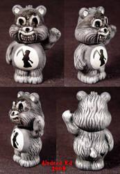 Killer Care Bear   DEAD BEAR by Undead-Art