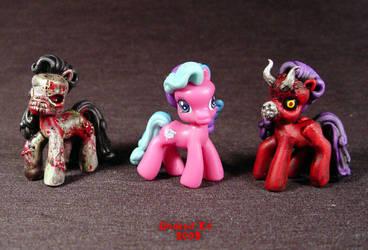 My Demon Pony mini comparison