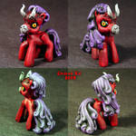 My Demon Ponies Demon Pony by Undead-Art