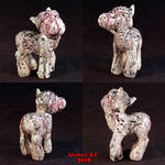 MLP Silent Hill Pony Ooak 1 by Undead-Art