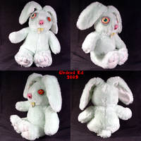 Rudieda Rabbit Ooak Plush doll