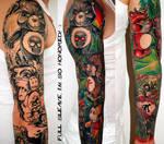 Fan tattoo of my Art part 7