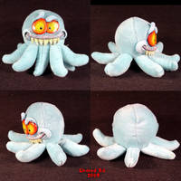 Ick the octopus Plush Ooak