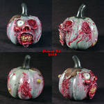 Zombie Pumpkin decoration