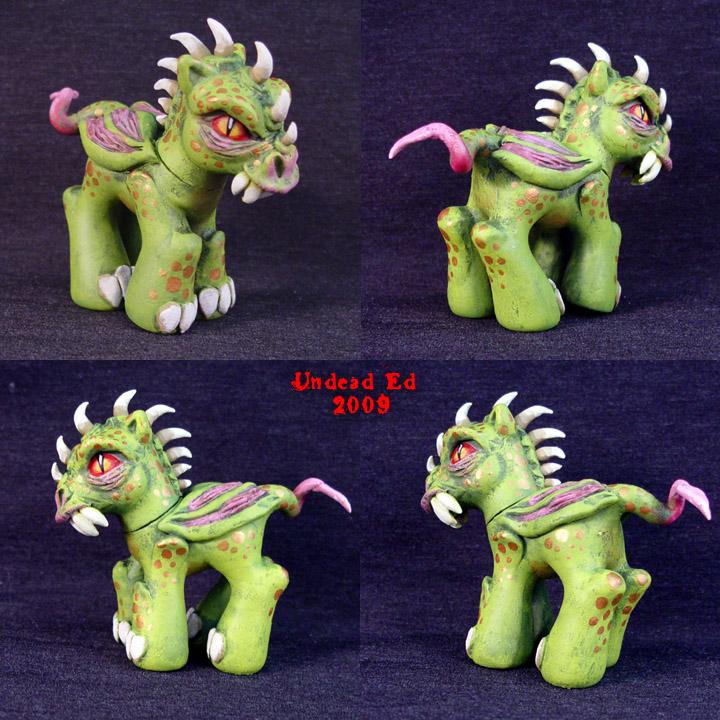 Gardanox MLP Colt DRAGON by Undead-Art