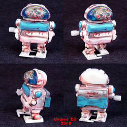 Rusted Zombie Robot windup TOY