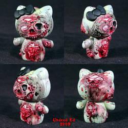 Hel Evil Kitty 1 Zombie by Undead-Art
